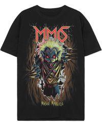 MM6 by Maison Martin Margiela - Zombie Cat Print T-shirt - Lyst