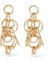 Chloé - Reese Gold-tone Earrings - Lyst