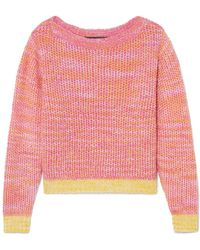 The Elder Statesman - Flowers Of Life Kaschmirpullover - Lyst
