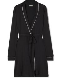 Eberjey - Gisele Stretch-modal Jersey Robe - Lyst