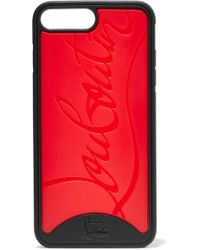 Christian Louboutin - Loubiphone Embossed Pvc Iphone 7 And 8 Plus Case - Lyst