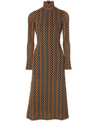 Beaufille - Opis Cutout Crochet-knit Midi Dress - Lyst