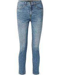 Veronica Beard - Faye High-rise Skinny Jeans - Lyst