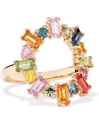 Ileana Makri - 18-karat Gold Sapphire Ring Gold 7 - Lyst