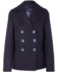 JOSEPH - Hector Double-breasted Wool-blend Felt Coat - Lyst