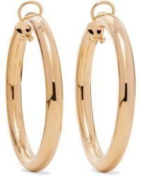 Jennifer Fisher - Samira Gold-plated Clip Hoop Earrings - Lyst