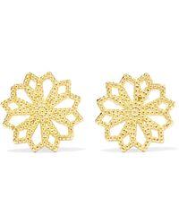 Grace Lee - Lace Deco Vi 14-karat Gold Earrings - Lyst