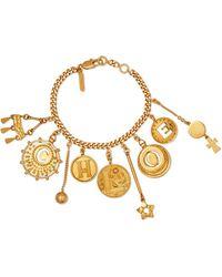Chloé - Gold-tone Charm Bracelet - Lyst