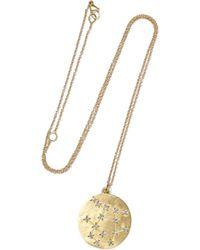 Brooke Gregson - Gemini 14-karat Gold Diamond Necklace - Lyst