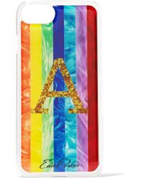 Edie Parker - + Goo. Ey Rainbow Printed Coated-acrylic Iphone 6 And 7 Case - Lyst