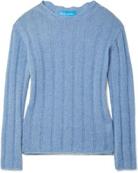 M.i.h Jeans - Carolee Ribbed Mohair-blend Sweater - Lyst