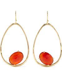 Ippolita - Rock Candy 18-karat Gold Carnelian Earrings - Lyst