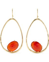 Ippolita - Rock Candy 18-karat Gold Carnelian Earrings - Lyst