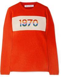Bella Freud - 1970 Cashmere-blend Sweater - Lyst