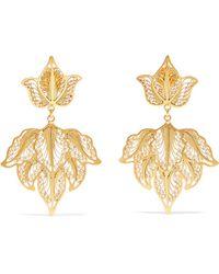 Mallarino - Emma Gold-tone Earrings - Lyst