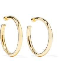 Jennifer Fisher - Samira Gold-plated Hoop Earrings - Lyst