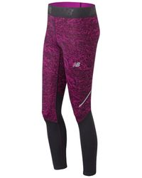 New Balance - Accelerate Printed Tight - Lyst
