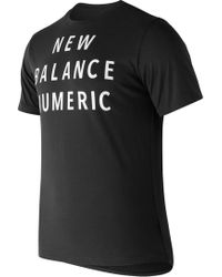 New Balance - Nb Numeric Wordmark Tee - Lyst