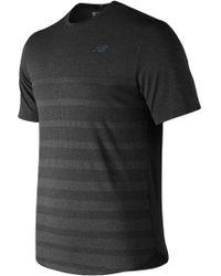 New Balance - Speed Jacquard Short Sleeve Shirt - Lyst