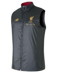 New Balance - Liverpool FC Managers Gilet - Lyst