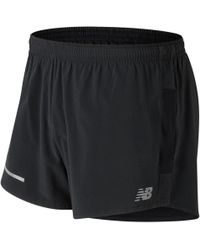 New Balance - Impact 3 Inch Split Short - Lyst
