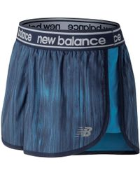 New Balance - Printed Accelerate 2.5 Inch Short - Lyst