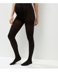 New Look - 2 Pack Maternity Black 100 Denier Tights - Lyst