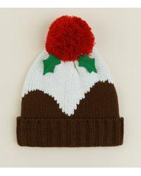 d79eefc7b8f60 New Look Light Brown Ribbed Beanie Hat in Brown for Men - Lyst