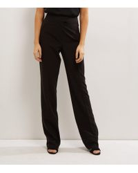 New Look - Black Suit Bootcut Trousers - Lyst