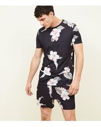 3a3c4b9f7c523d Ted Baker Men s Yorkii Tropical Print T-shirt in Green for Men - Lyst