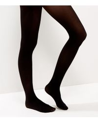 New Look - Black 40 Denier Luxury Shaping Tights - Lyst