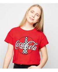 284fa43289a Pinko White Basilico T-shirt (coca-cola Collaboration) in White - Lyst
