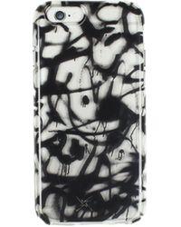 Nicole Miller - Graffiti Scribbles Iphone Case - Lyst