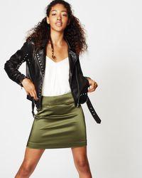 Nicole Miller - Fillipe Mini Skirt - Lyst