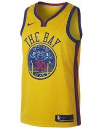 Nike - Stephen Curry City Edition Swingman Jersey (golden State Warriors) Men's Nba Jersey - Lyst