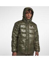 9cbeb6d9d4d13b Nike Jsw Jumpman Tricot Jacket in Green for Men - Lyst