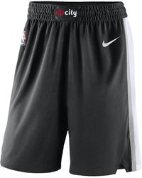 Nike - Portland Trail Blazers Icon Edition Swingman Men's Nba Shorts - Lyst