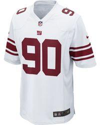 NFL Jersey's Men's New York Giants Jason Pierre-Paul Nike White Limited Jersey
