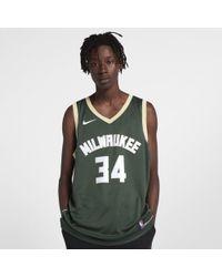 832cf593196 Nike - Giannis Antetokounmpo Icon Edition Swingman (Milwaukee Bucks) NBA  Connected Trikot für -