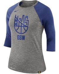 bd20dbfd3d7acf Nike - Golden State Warriors Dry Women s 3 4 Sleeve Nba T-shirt -