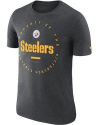 "Nike - ""property Of"" (nfl Steelers) Men's T-shirt - Lyst"