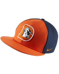 Nike - Energy Xc True (nfl Broncos) Adjustable Hat (orange) - Lyst