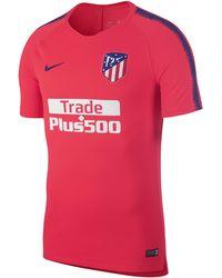 ac4ce352c Nike Atletico De Madrid Dri-fit Squad Drill Long-sleeve Football Top ...
