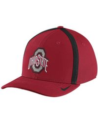 Nike | College Aerobill Swoosh Flex (ohio State) Fitted Hat | Lyst