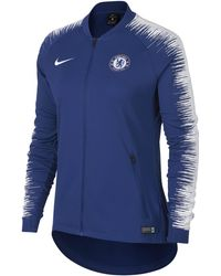 6fa5670a2 Nike 2018-2019 France Anthem Jacket (deep Royal) - Womens Women's T ...