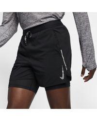 7f24bfbb Nike Flex Stride 2 In 1 Running Shorts in Black for Men - Lyst