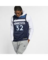 1c63ef653a37 Nike - Karl-anthony Towns Icon Edition Swingman (minnesota Timberwolves) Nba  Connected Jersey