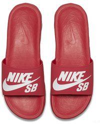 Nike - SB Benassi Solarsoft Herren-Badeslipper - Lyst