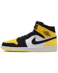 Nike Air Jordan 1 Mid SE schuh - Schwarz