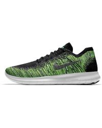 bc814f8a79f Lyst - Nike Free Rn Flyknit Id Men s Running Shoe in Red for Men